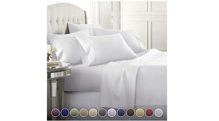 Danjor Linens 6 Piece Hotel Luxury Soft 1800 Series Premium Bed Sheets Set