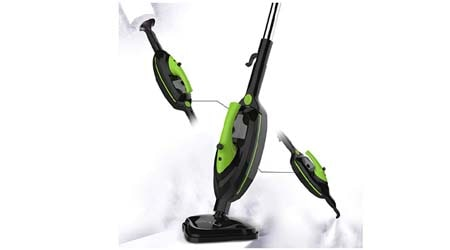 SKG 1500W Powerful Non-Chemical 212F Hot Steam Mops Floor Carpet Cleaning Machines