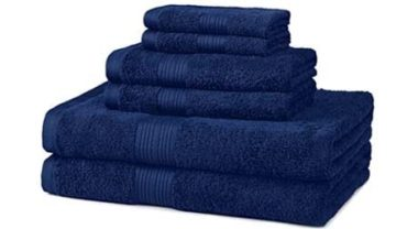 AmazonBasics bath towel